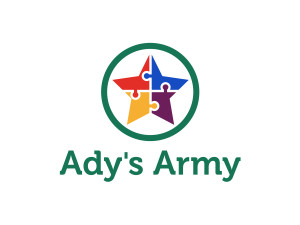 Adys Army Logo, Autism Support Group
